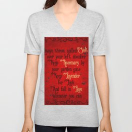 Practical Magic Spell Unisex V-Neck
