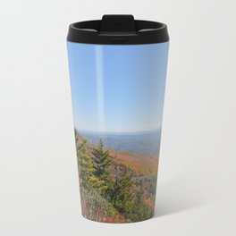 Autumn in the Mountains, Horizontal Travel Mug