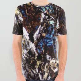Pyroxene and Feldspar All Over Graphic Tee