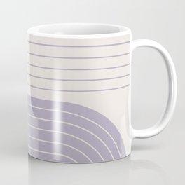 Two Tone Line Curvature XXIII Coffee Mug