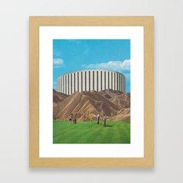 Golfers Framed Art Print