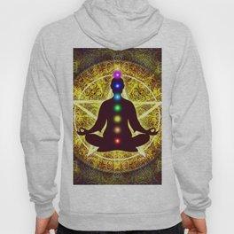 In Meditation With Chakras - Spiritual I Hoody