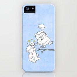 Mr. Owl's Revenge iPhone Case