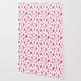 Pink flowers Nature Wallpaper