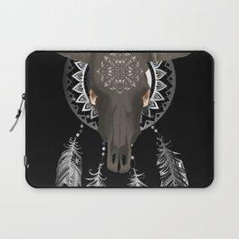Buffalo skull dream catcher Laptop Sleeve