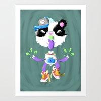 Creepy Cutie Art Print