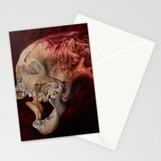 HeartSkull Stationery Cards