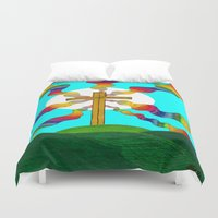 book cover Duvet Covers featuring Book cover by Carrollskitchen on youtube