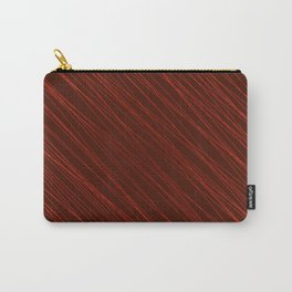 Vintage ornament of their red threads and repetitive intersecting fibers. Carry-All Pouch