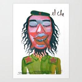 Che Guevara by Diego Manuel Art Print
