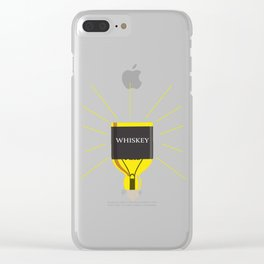 Whiskey Idea Clear iPhone Case