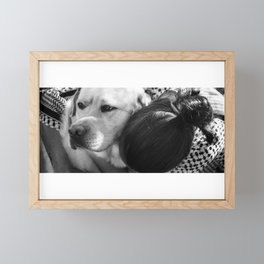 Love is... Being a Yin to your Yang Framed Mini Art Print