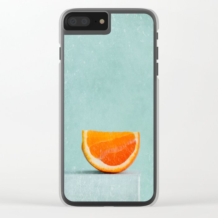 summer in orange II Clear iPhone Case