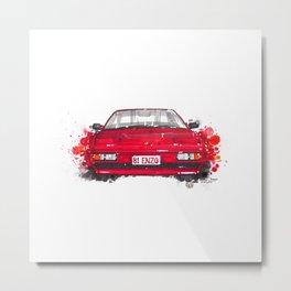 Ferrari Mondial Metal Print