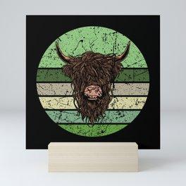 Highland Cattle Mini Art Print