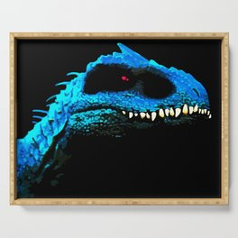 Cool Blue Jurassic Dino- Indominus Rex Serving Tray