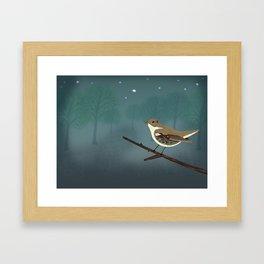 The Nightingale Framed Art Print