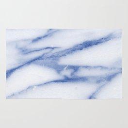 Blue Skies Marble Rug