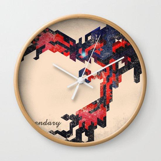 I Am Legendary Y- Geometric Wall Clock