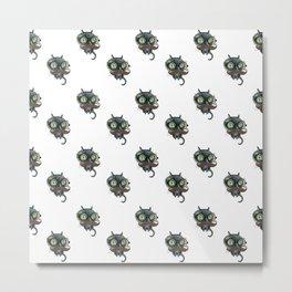 The eYeZ pattern Metal Print
