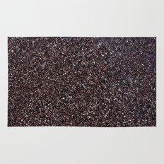 Black Sand IV (Red) Rug