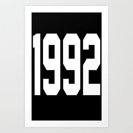 1992 Art Print