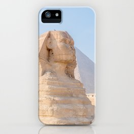 Famous Sphinx of Giza Egypt Cairo iPhone Case