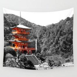 Seiganto-ji Temple: Kumano Kodo,Wakayama, Japan Wall Tapestry