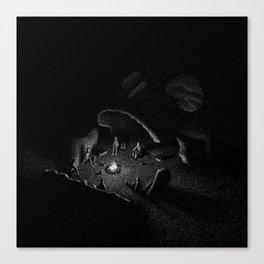 Drawlloween 2016: Skull Canvas Print