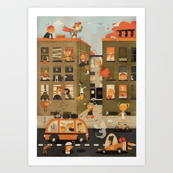 Horror Vacui ( 2010 ) Art Print