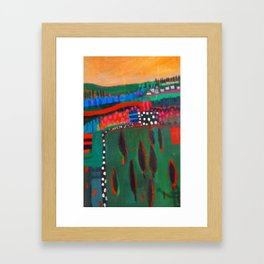 Landscape 5 Framed Art Print