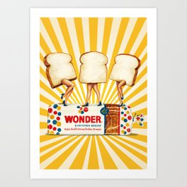 Wonder Women Art Print