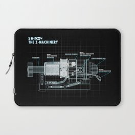 The Z-Machinery - Technical Blueprint Laptop Sleeve