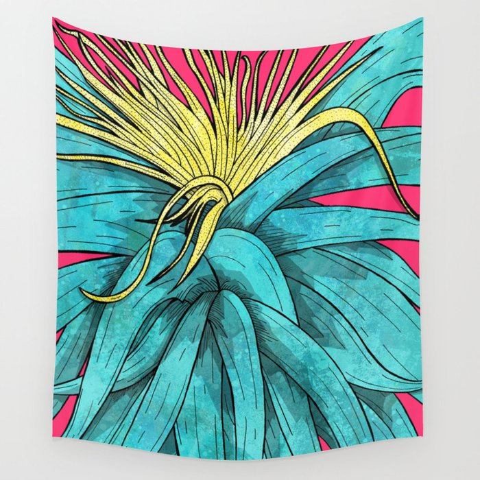Tropical Plant Wall Tapestry