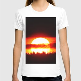 Sun in the Trees and Clouds T-shirt