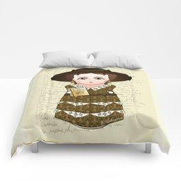 Kokeshi Virginia Woolf Comforters