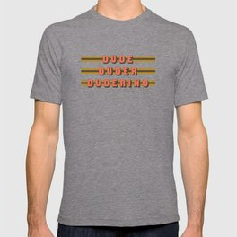 The Dude Duder Duderino (Rule of Threes) T-shirt