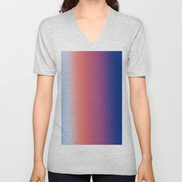 Ombre Clouds 1 Unisex V-Neck