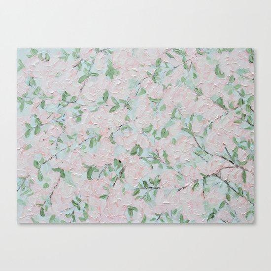 April Blooms Canvas Print