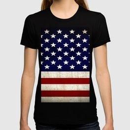 American Usa Flag T-shirt