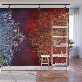 Mandala - Fire & Ice Wall Mural