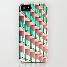 Pastel Repetition iPhone Case
