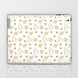 Christmas Ornaments Pattern Laptop & iPad Skin