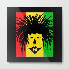 Jamaica Man Metal Print
