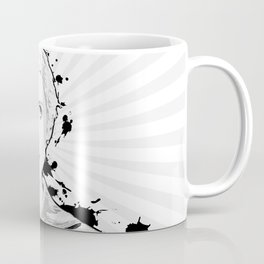 Pop Art, Portrait of Women Looking Up Coffee Mug