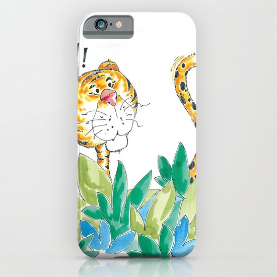 Spots, your tail is up! iPhone & iPod Case