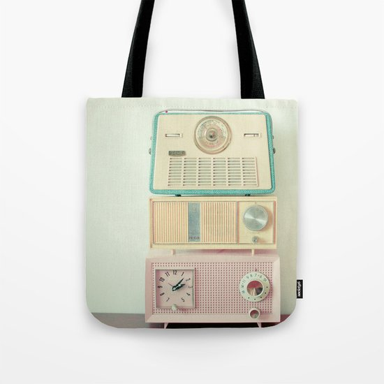 Radio Stations Tote Bag