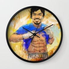 Manny Pacquiao - Pound 4 Pound Wall Clock