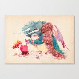 Bonsai heart Canvas Print