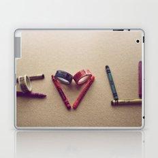 Children Love | I Love You Laptop & iPad Skin